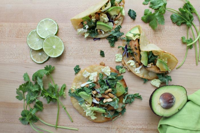 Deliciously Easy Asian Chicken Tacos