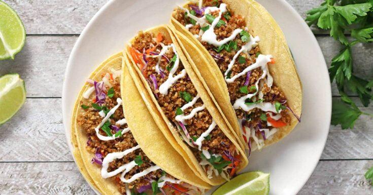 Walnut Meat Tacos | The best tasting vegan tacos!