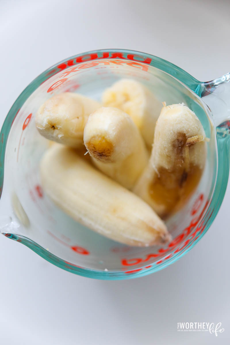 recipes for ripe bananas