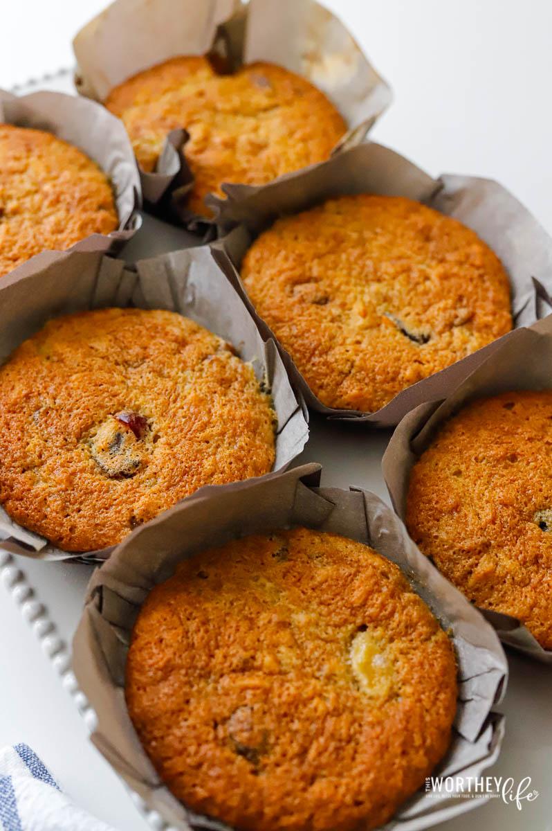 easy banana bread muffins