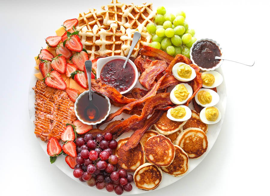 Pancake Grazing board idea