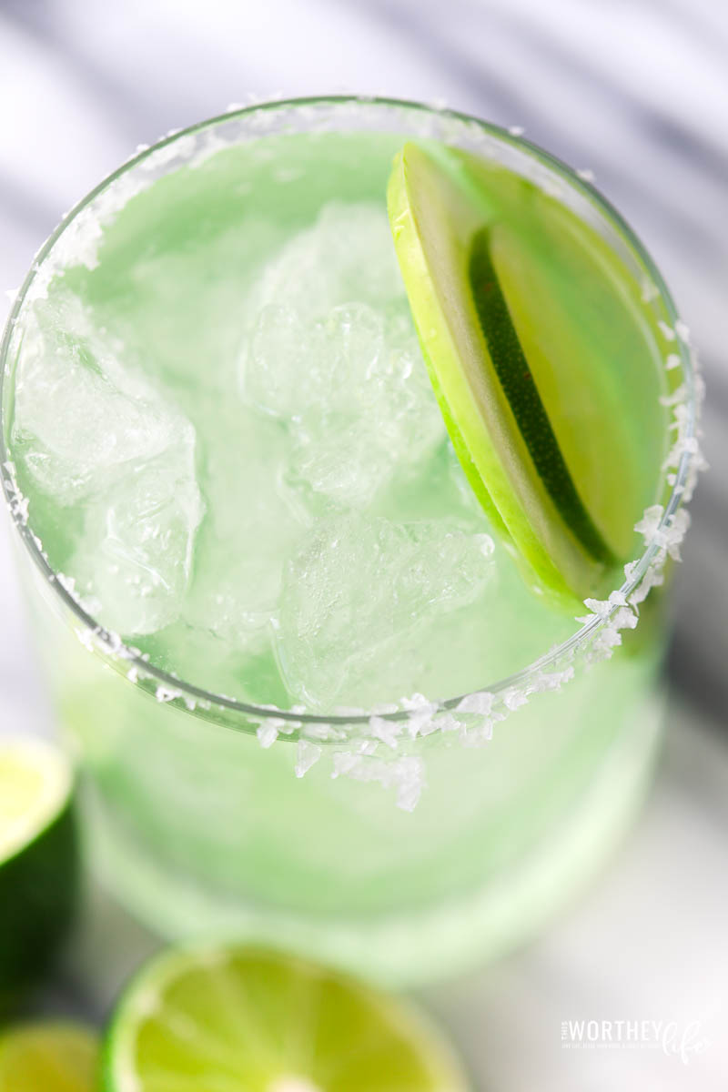 Easy Sour Apple Margarita