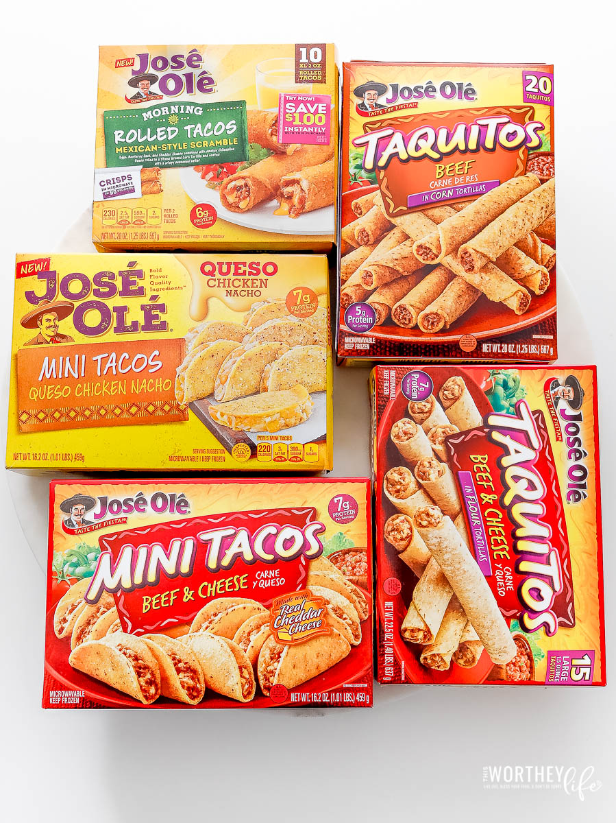 taquitos frozen Food to buy