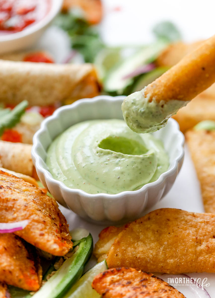 Sour Cream Avocado Dip
