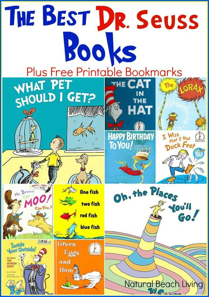The Best Dr. Seuss Books (Free Printable)