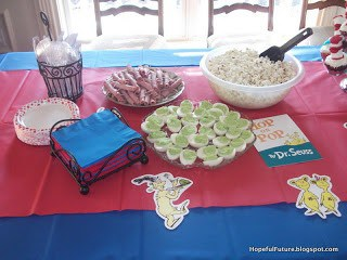 Dr. Seuss birthday party - Beauty through imperfection