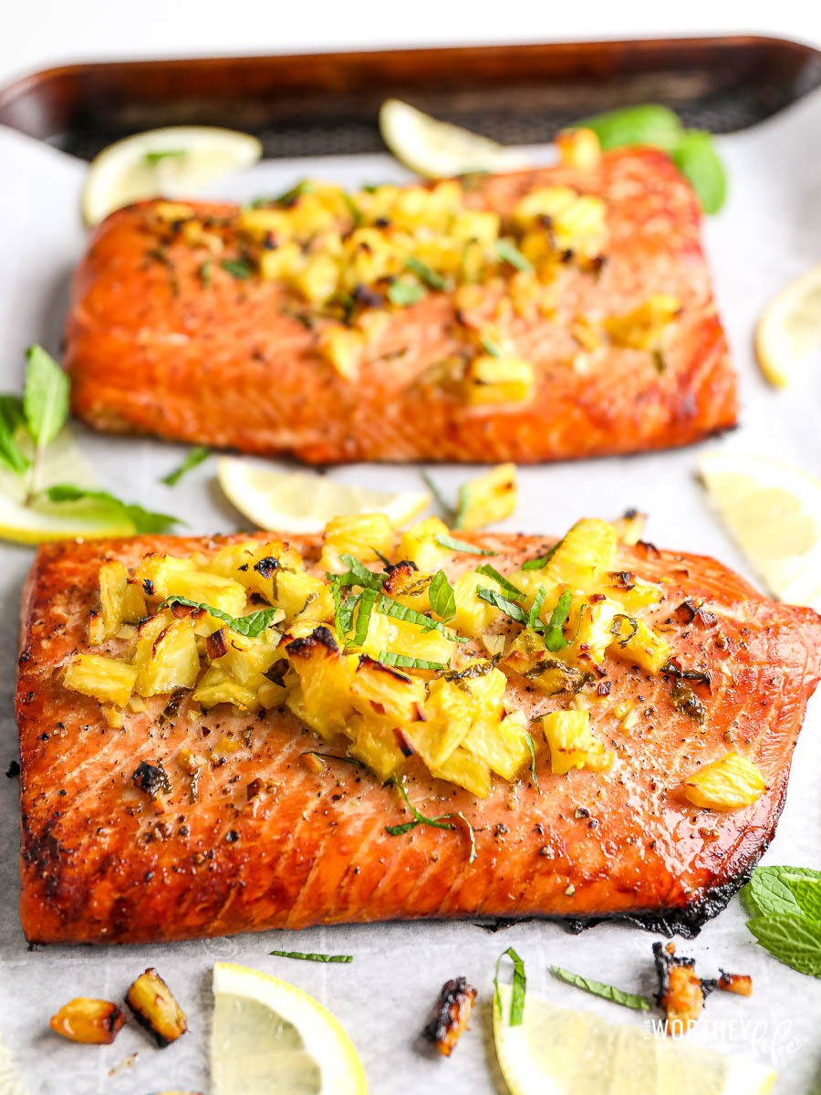 Salmon Recipes with pineapple