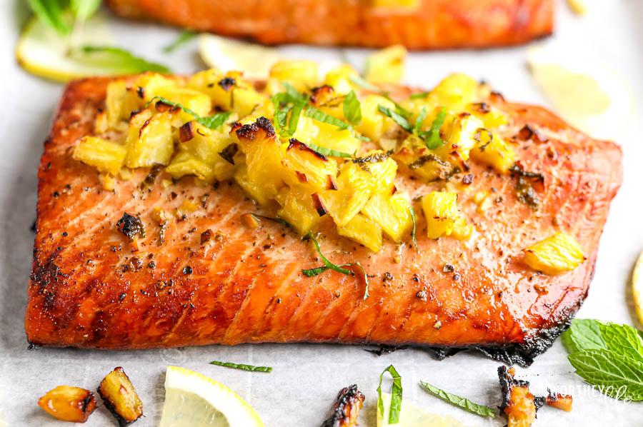 poplular salmon recipes