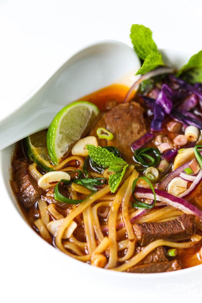 instant pot vietnamese beef pho recipe