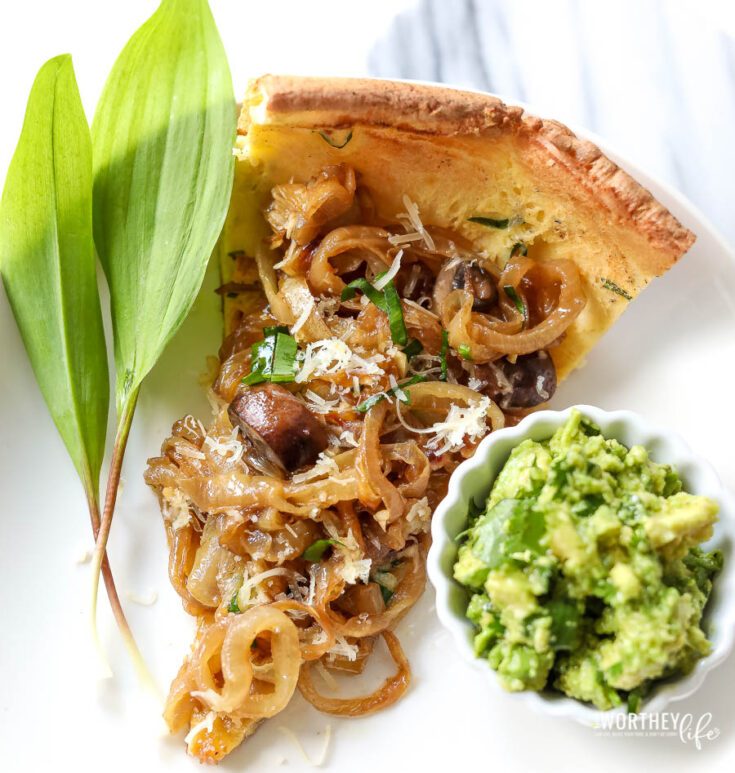 onion and mushroom dutch baby recipe