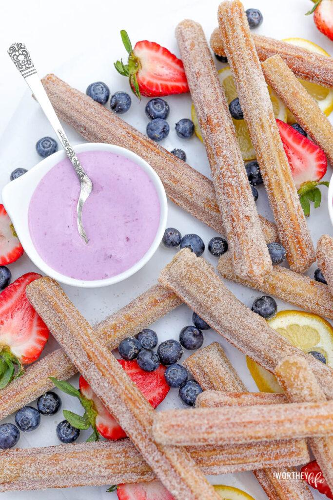Blueberry Cream Cheese Dip Recipe