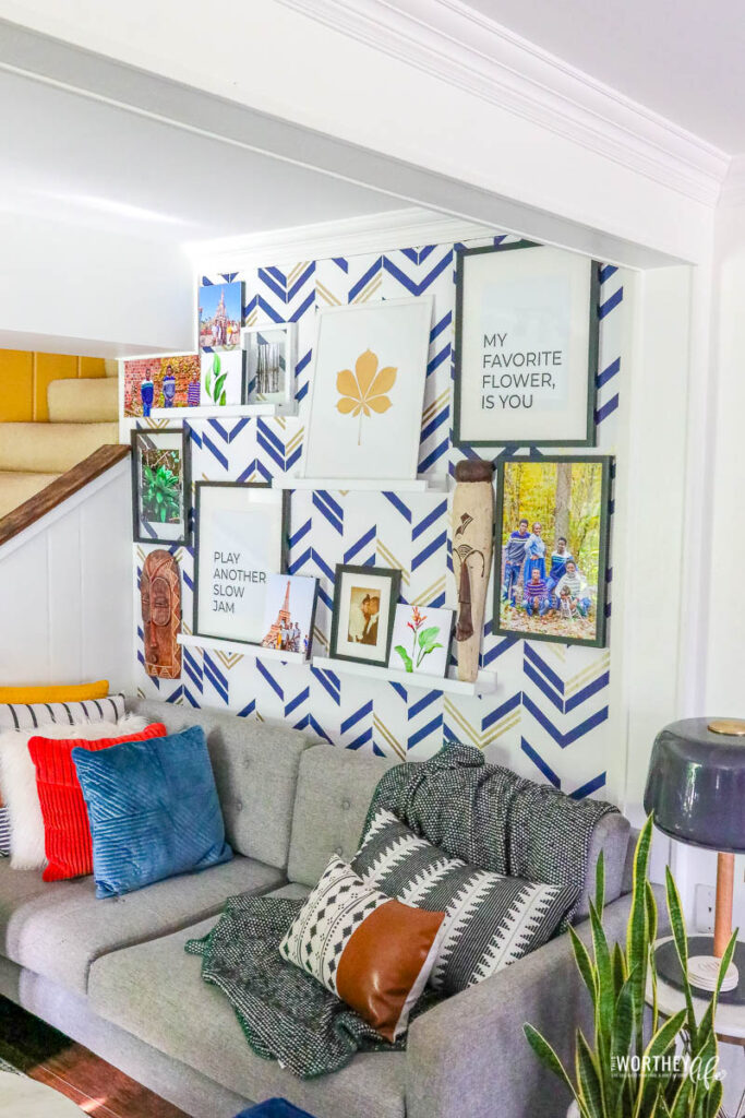 wall art ideas for a living room