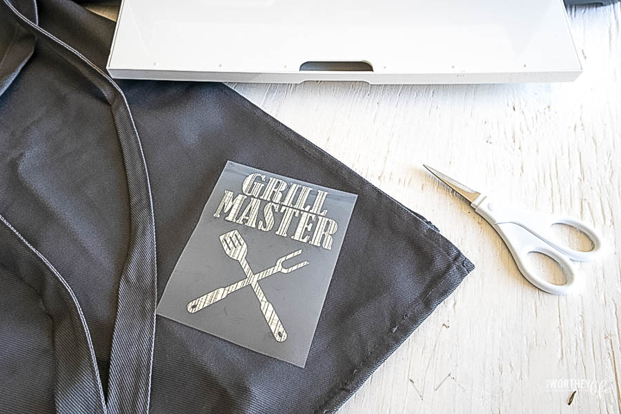 DIY Grill Master Apron Using A Cricut