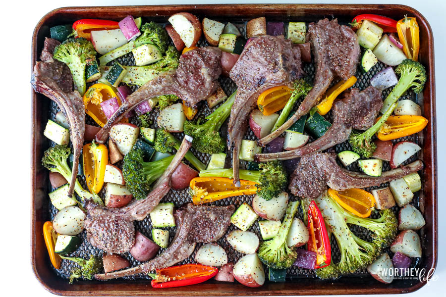 Sheet Pan dinner ideas