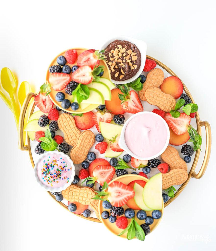 NUTTER BUTTER Cookies & Dip Board