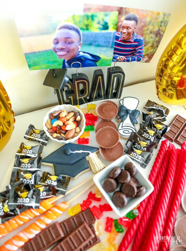 Graduation Candy Board