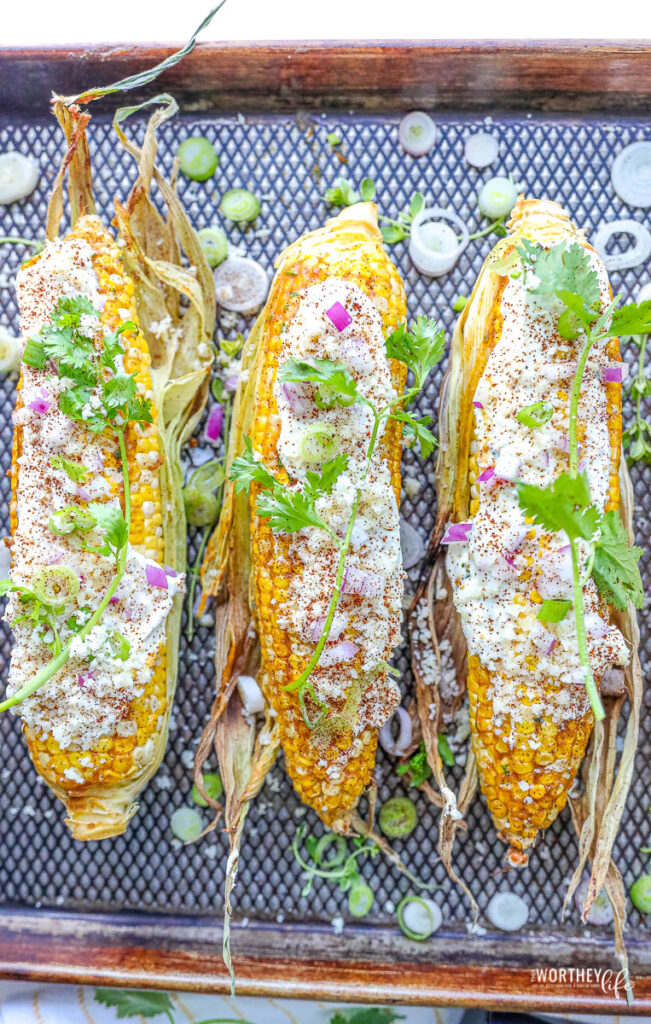 Curry Mexican Street Corn
