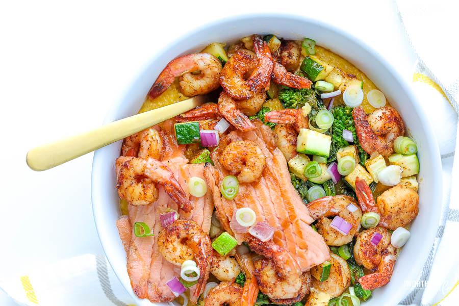 how to make garlicky shrimp