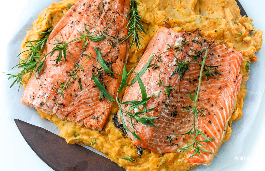 Salmon Potato Bake