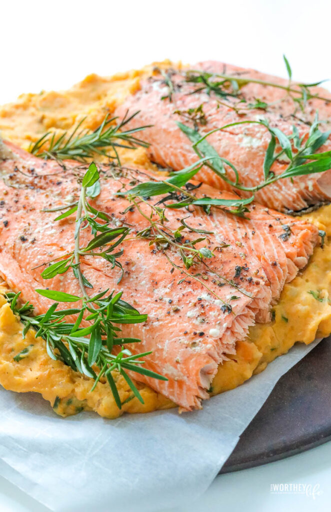 what temperature to bake salmon