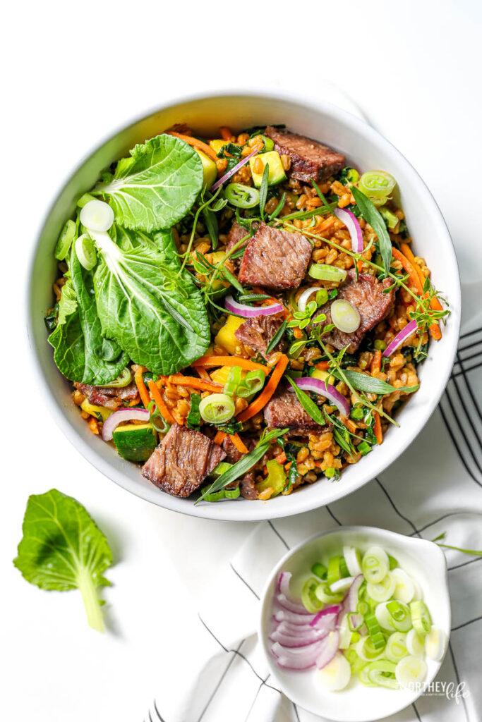 Steak Farro Bowl
