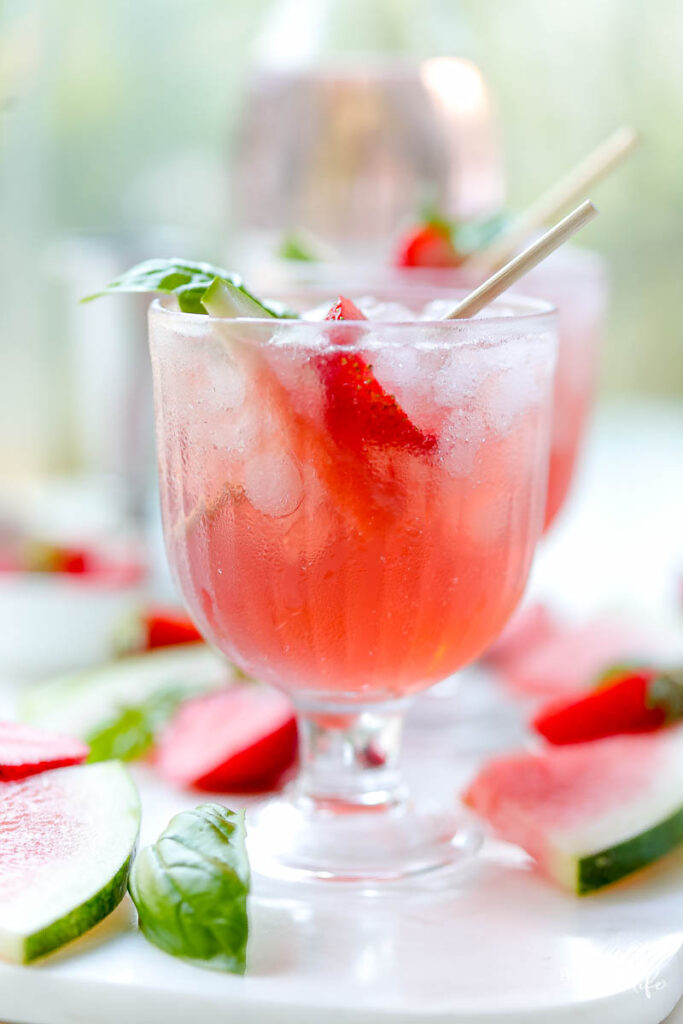 strawberry drinks