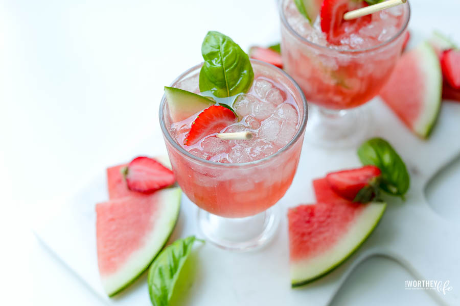 fruity summer drinks