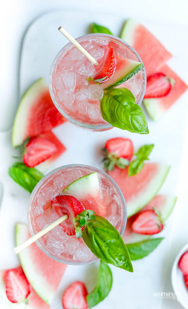 watermelon pucker drinks