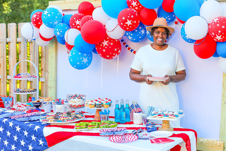 Red, White & Blue Party Supplies