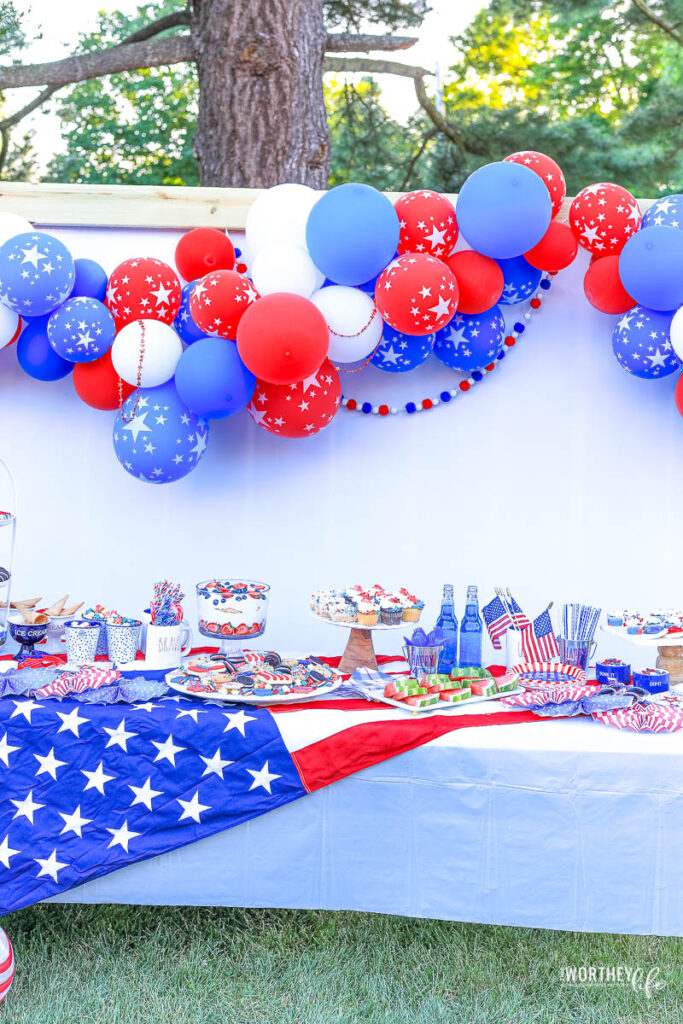 4th of july party idea