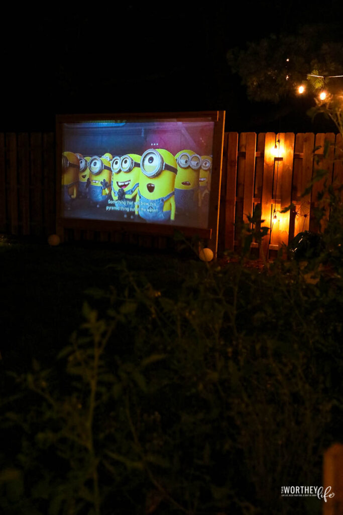 Minions Movie Night idea