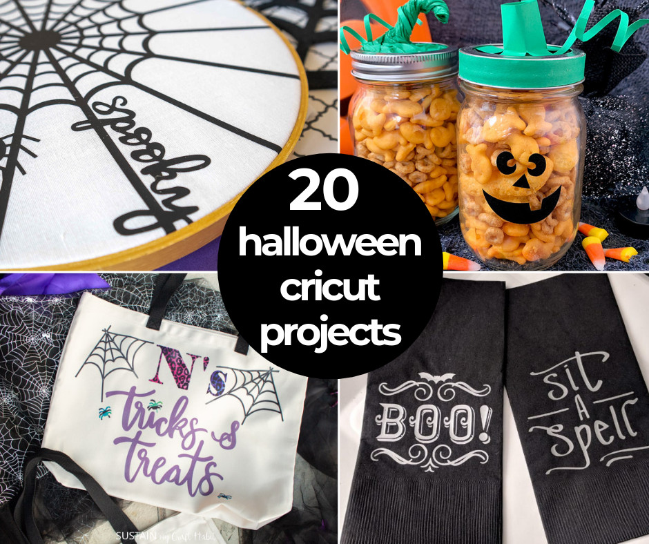 20 Creative Cricut Halloween Ideas