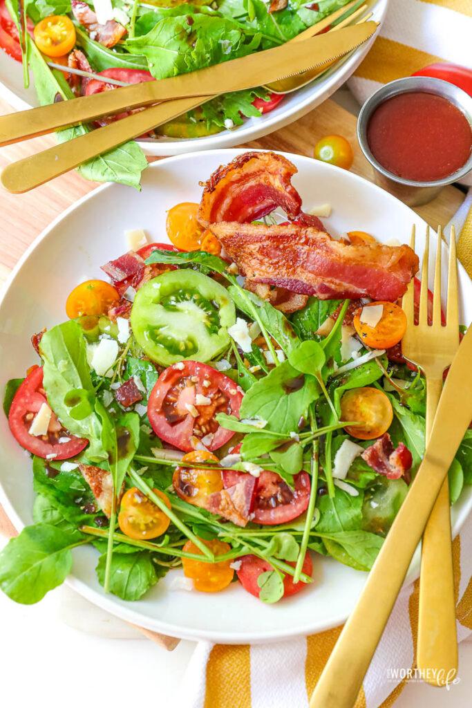 Bacon Lettuce & Triple Tomato Salad