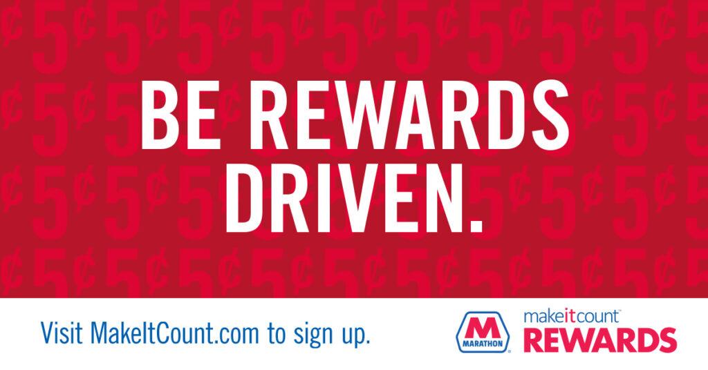 Marathon's MakeItCount Rewards app
