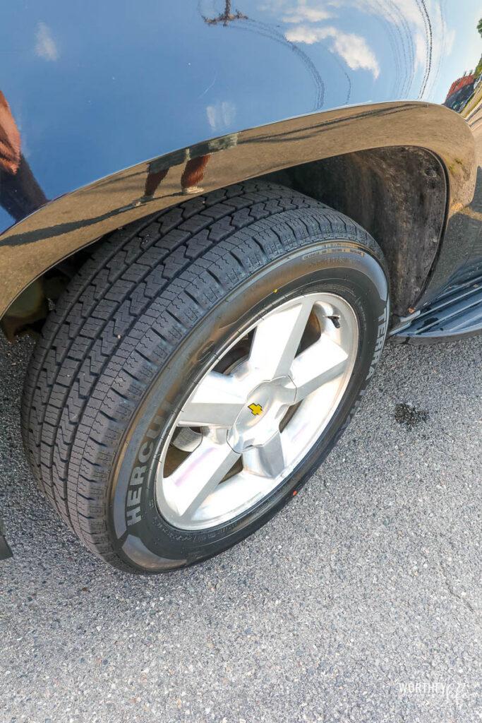 Hercules Terra Trac Tires