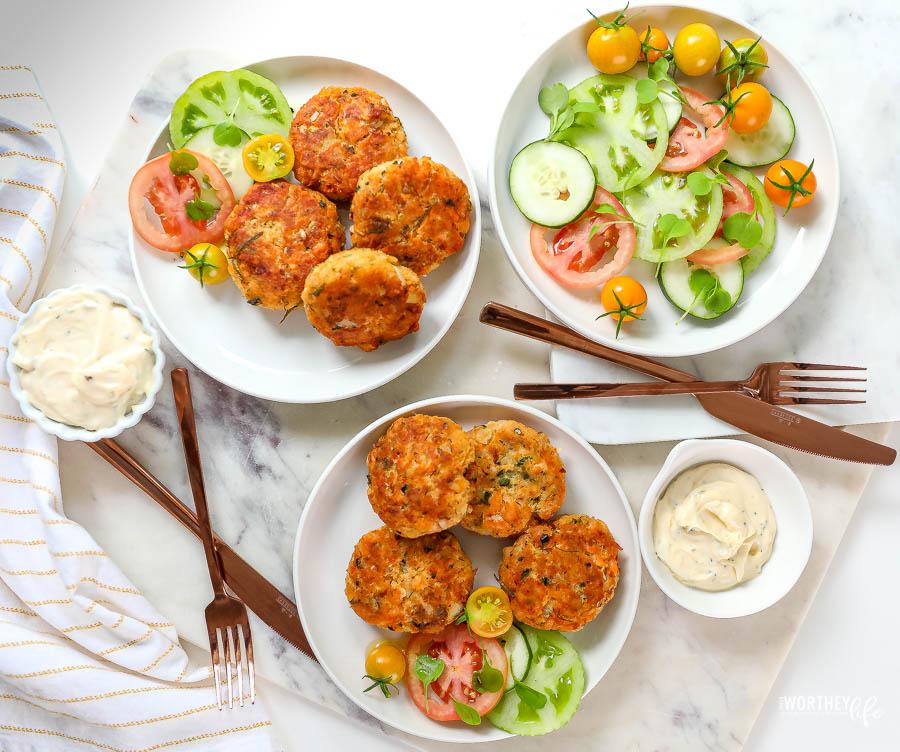 Potato + Salmon Croquettes