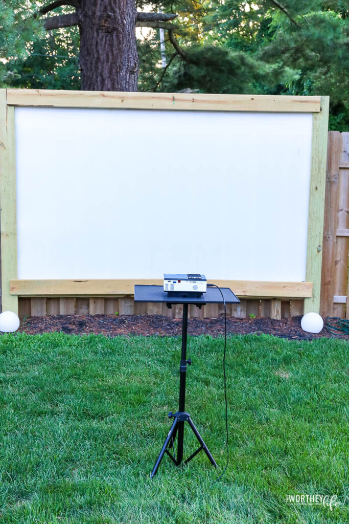 Affordable Projectors for outdoor movie nights