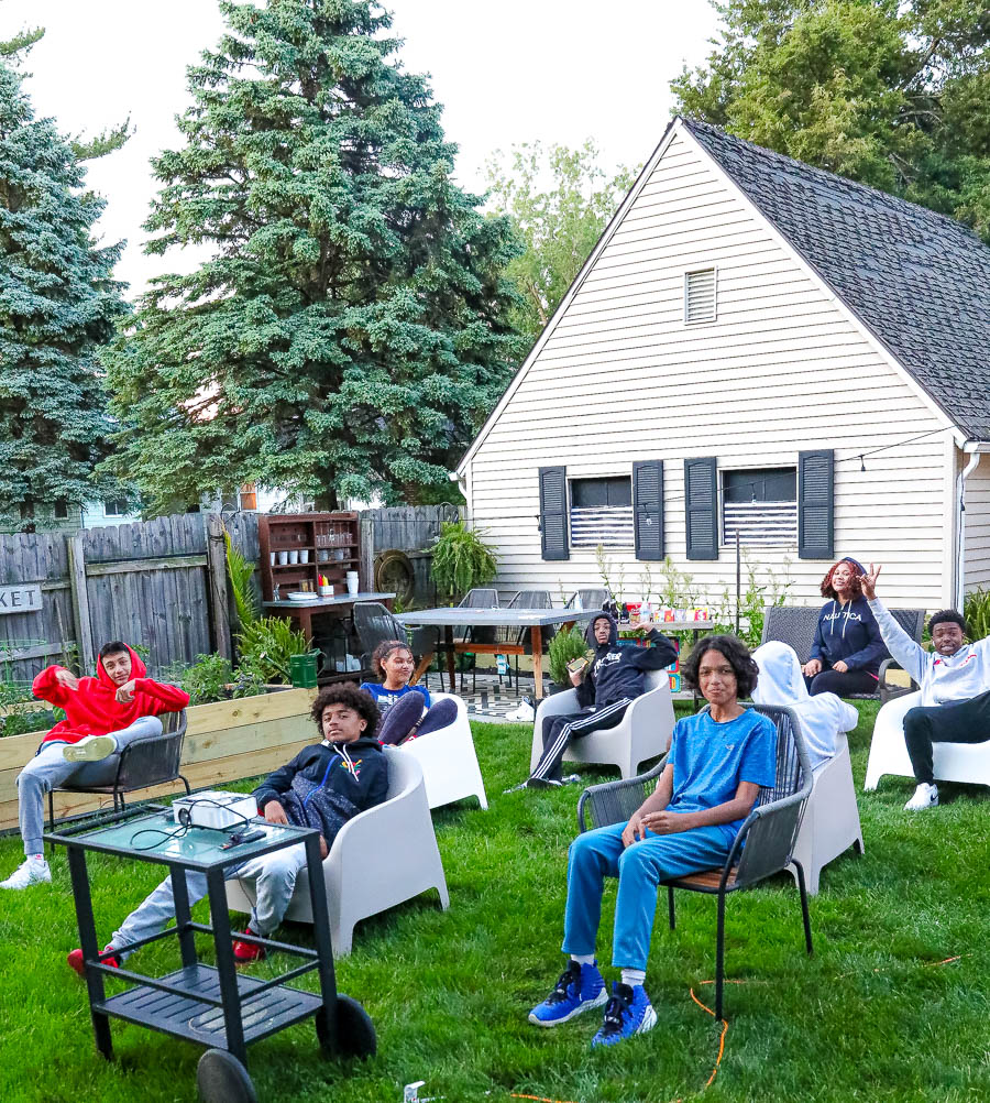 Tips on hosting an outdoor movie night, social distance style: