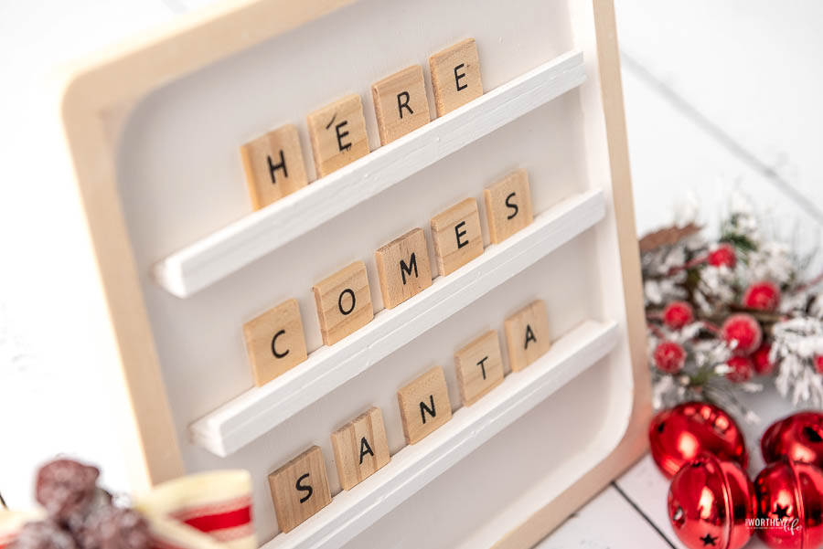 Christmas Letter Board