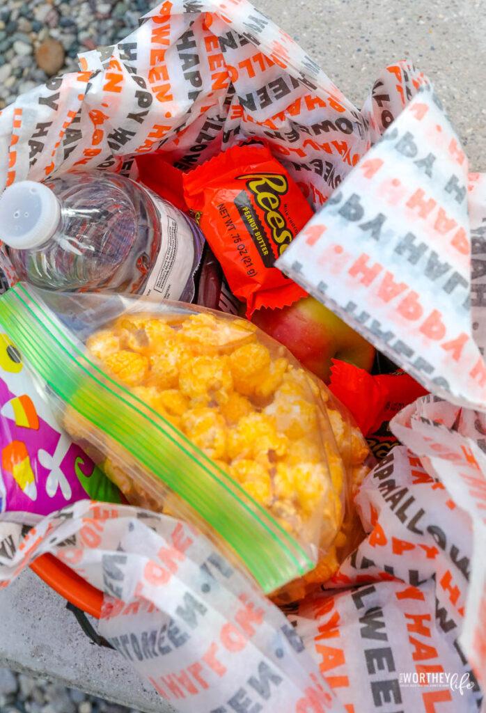 Halloween Movie Buckets