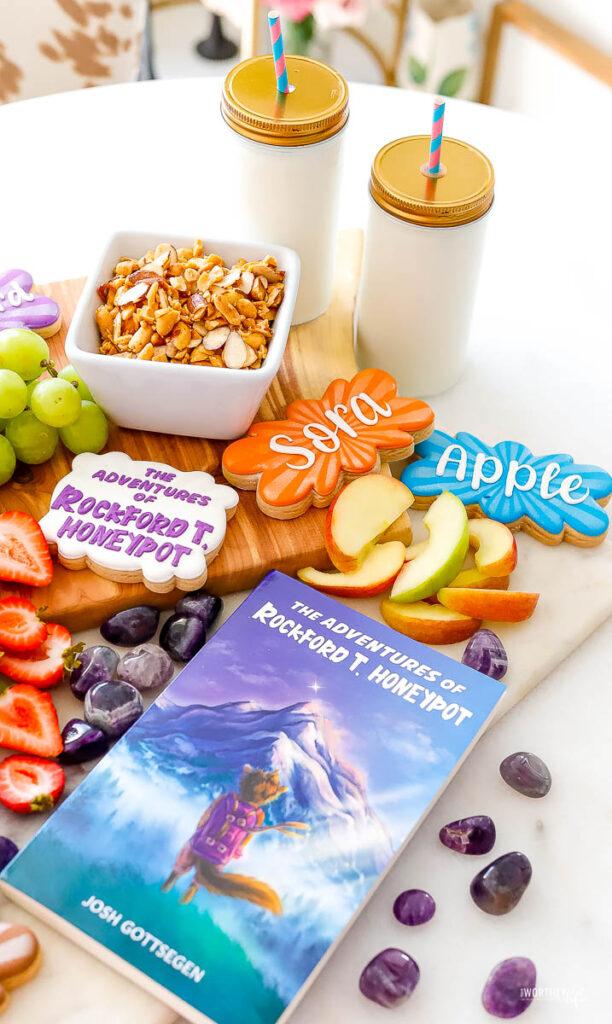snack board for kids