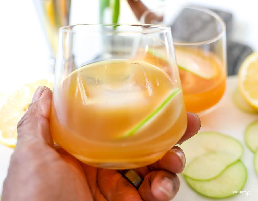 easy apple cider cocktails