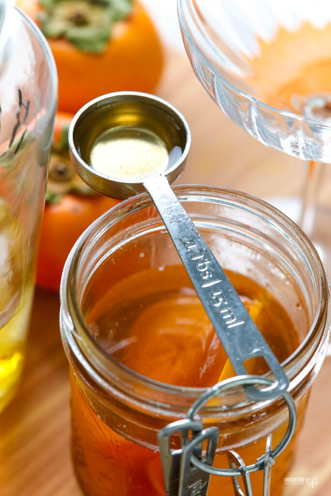 how to make persimmon syrup