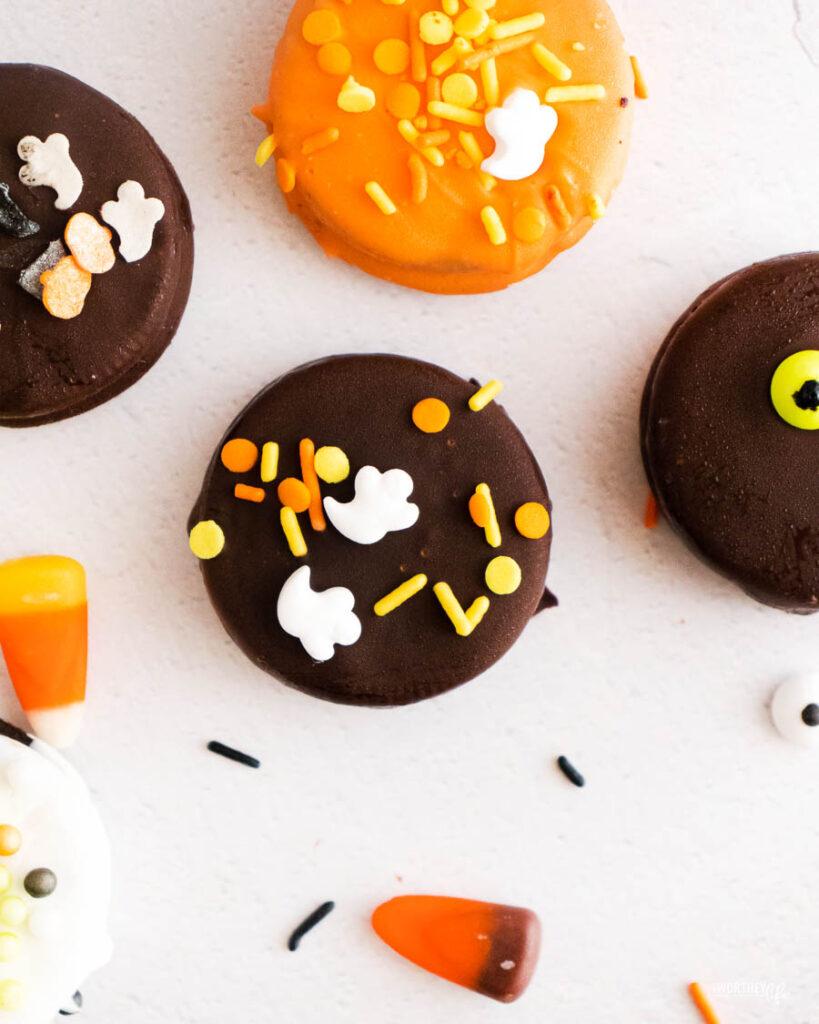 Halloween Chocolate Covered Oreosrecipe