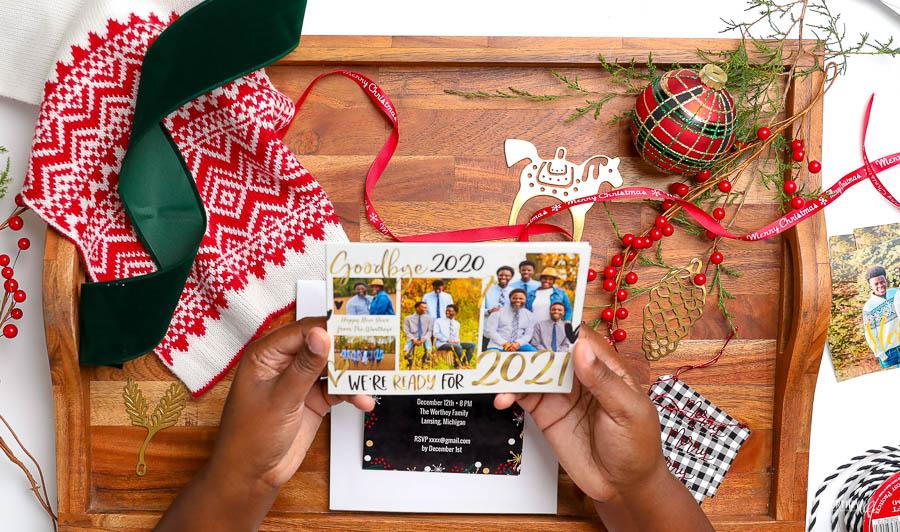 Walmart Photo holiday cards