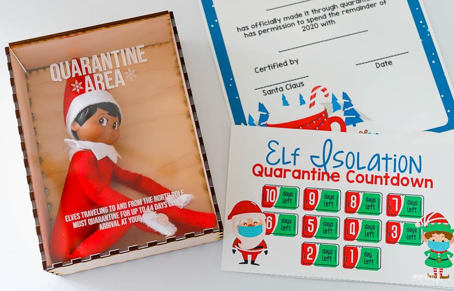 Elf On The Shelf Quarantine Ideas Free Printables