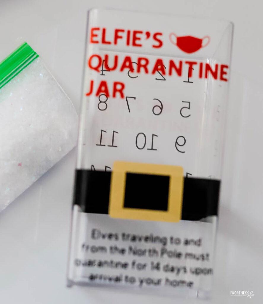 Elf Quarantine in a Jar