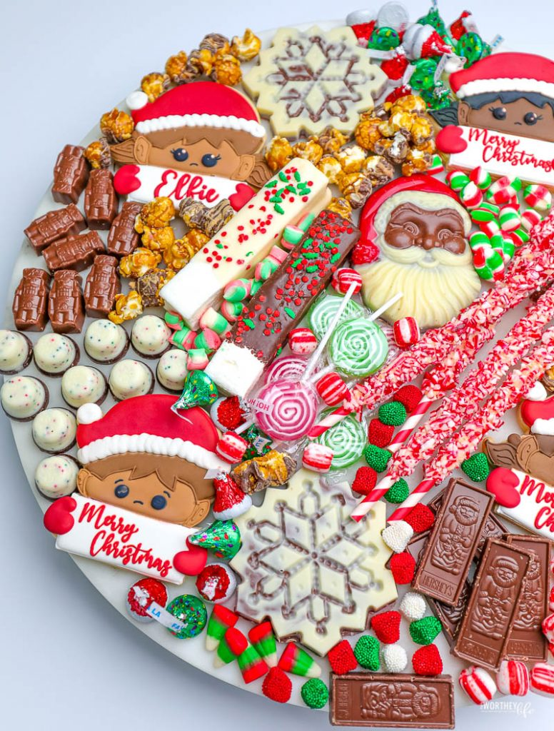 how to put together a hot cocoa board