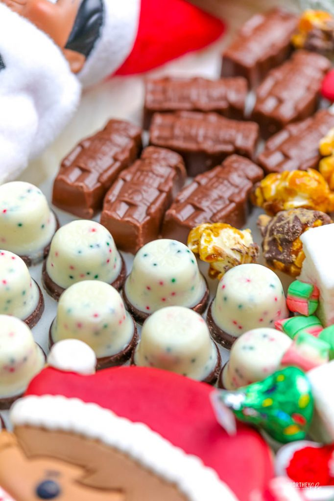 Where to buy holiday treats for a hot cocoa board?