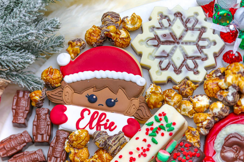 Tips on putting your Elf on the Shelf board together: